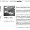 Graphic Design USA Sponsors American Web Design Award